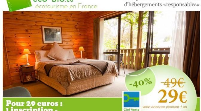 Eco-bio.eu, le portail des eco-hébergements: camping écologique, écogîte, chambre d'hôtes bio... Labels écologiques: ecolabel européen, clef verte
